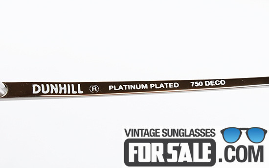 Dunhill 6189 col. 70 PLATINUM PLATED 750 DECO